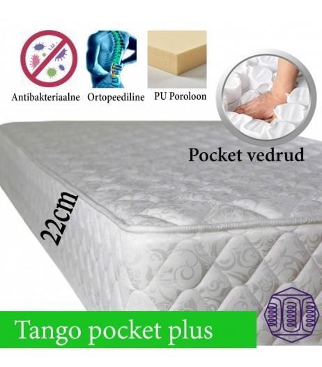 Pocket Vedrumadrats Tango Pluss 80*200 kuni 180*200