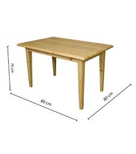 Täispuidust laud 80*80cm