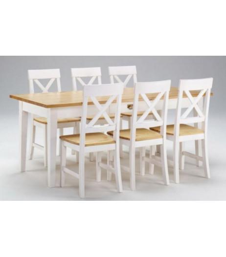 Söögitoa komplekt Monaco laud 180cm + 6 tooli